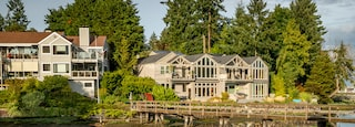 Bainbridge Island featuring a house and a river or creek