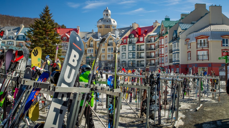 Mont-Tremblant showing snow