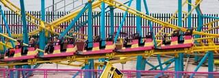 Adventure Island featuring rides