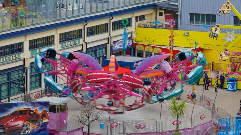Adventure Island which includes rides