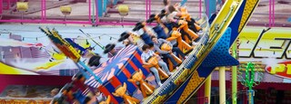 Adventure Island showing rides