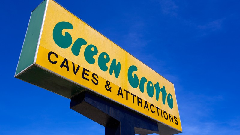 Green Grotto Caves (grottes)