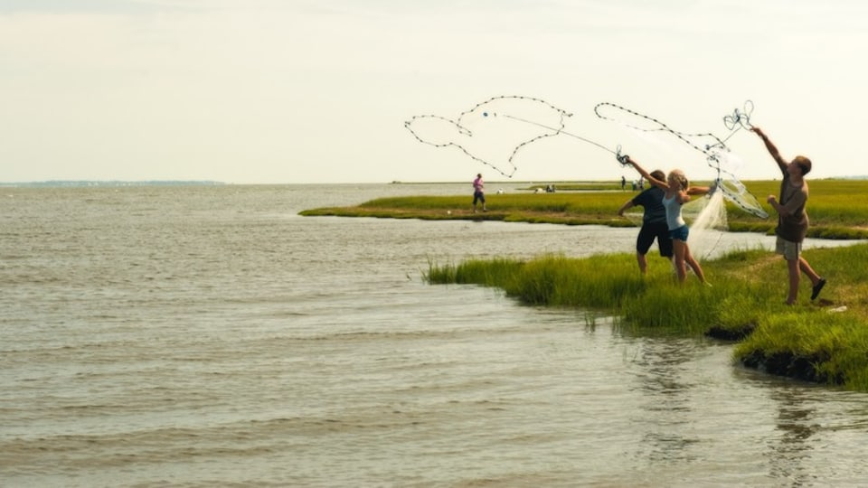 Morehead City which includes general coastal views and fishing as well as children