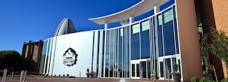 Pro Football Hall of Fame featuring modern architecture