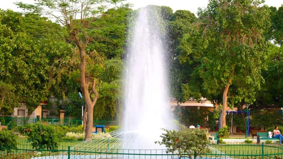 Nicco Park featuring a fountain and a garden