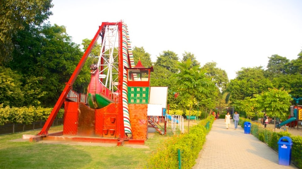 Nicco Park which includes rides and a park