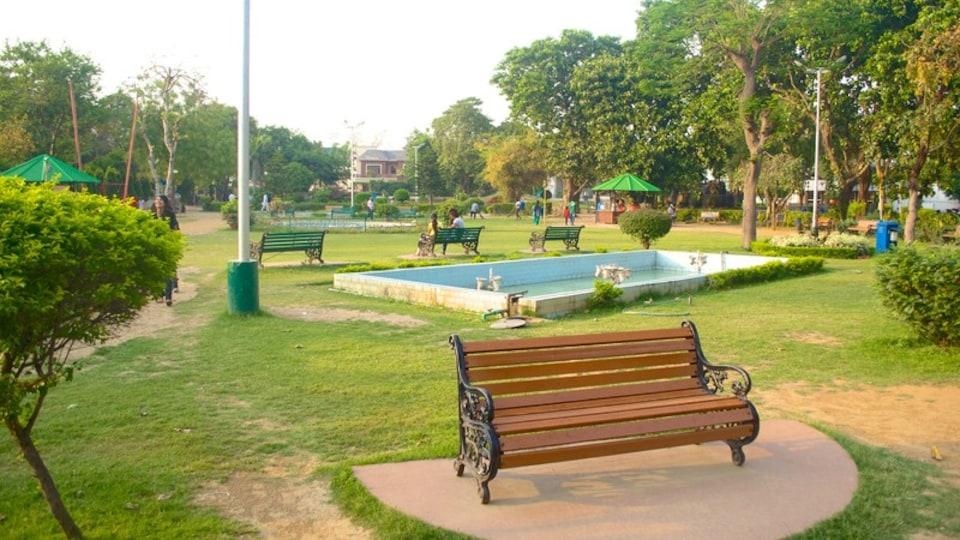 Nicco Park featuring a garden