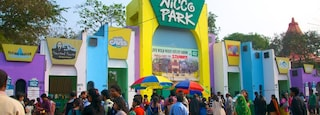 Nicco Park which includes street scenes, a park and rides