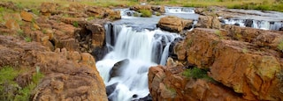 Mpumalanga - Limpopo featuring a waterfall and landscape views