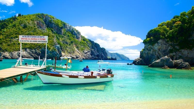 Spiaggia di Paleokastritsa