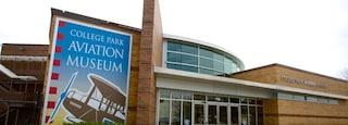 College Park Aviation Museum featuring signage