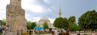 Mediterranean Coast showing street scenes and heritage elements
