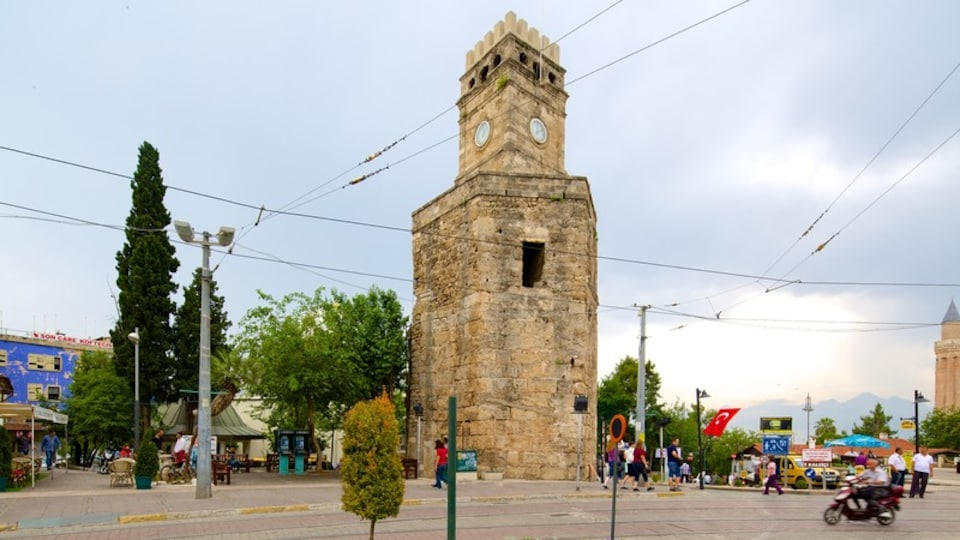 Mediterranean Coast which includes street scenes and heritage elements