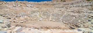 Knidos showing building ruins