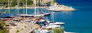 Datca Ferry Port which includes a marina