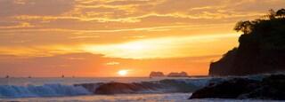 Flamingo Beach featuring landscape views, general coastal views and surf