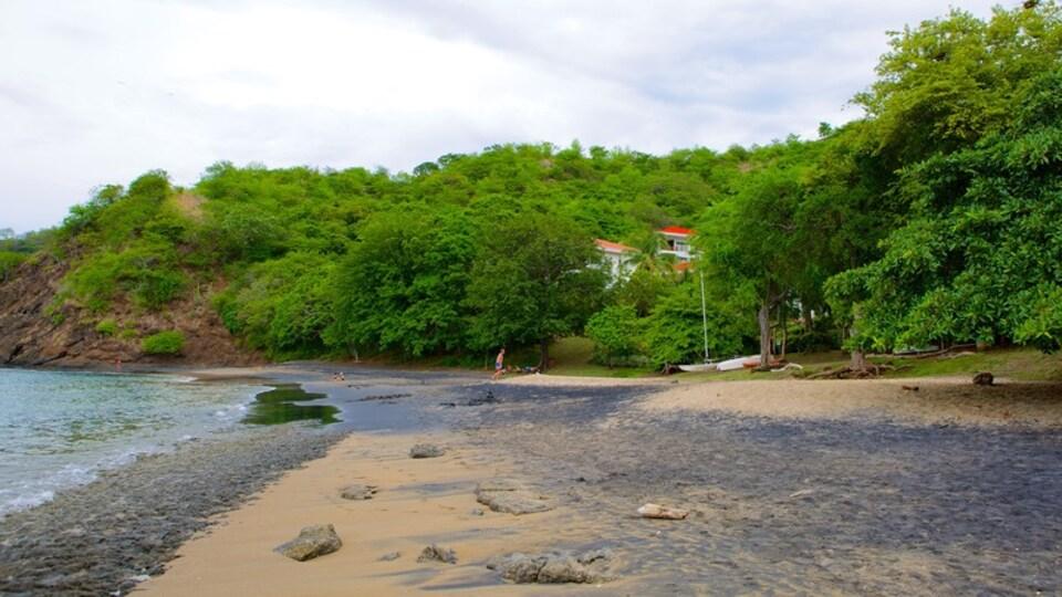El Ocotal featuring a pebble beach and a beach