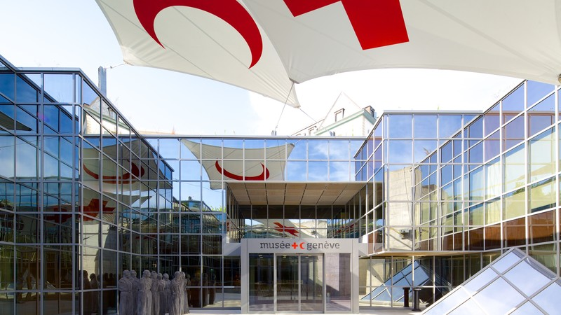 International Museum of the Red Cross and Red Crescent showing modern architecture