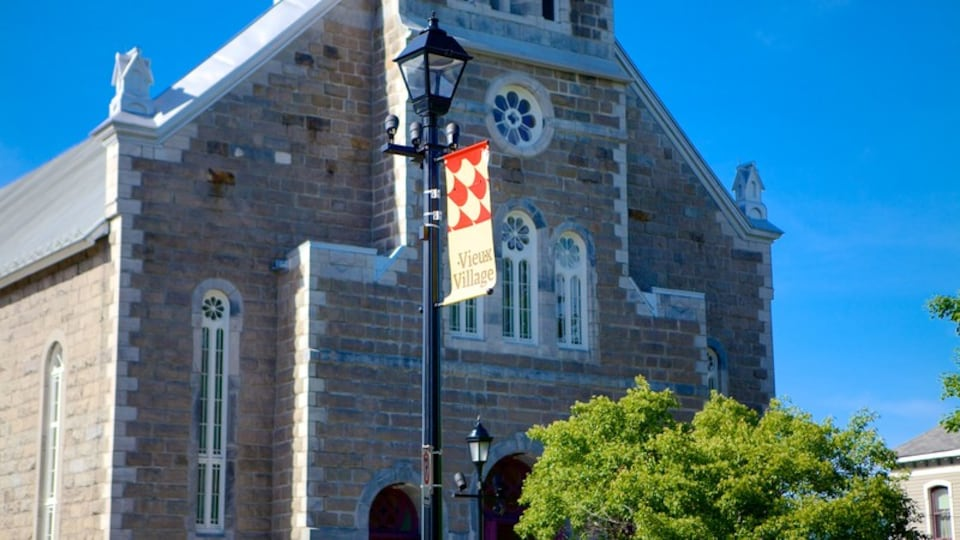 Bromont showing heritage architecture