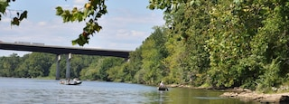 Blacksburg which includes a river or creek and kayaking or canoeing