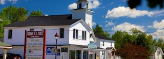 Baddeck showing a church or cathedral