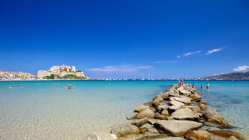 Calvi Beach