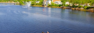 Bridgewater which includes a lake or waterhole and kayaking or canoeing as well as an individual male