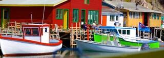 Quidi Vidi which includes boating and a marina