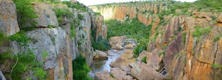 Mpumalanga - Limpopo showing a river or creek and a gorge or canyon