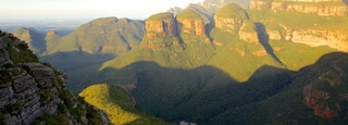 Mpumalanga - Limpopo featuring mountains, a gorge or canyon and landscape views