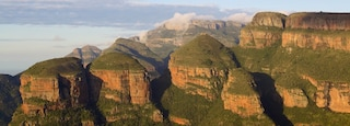 Mpumalanga - Limpopo which includes a gorge or canyon, mountains and landscape views
