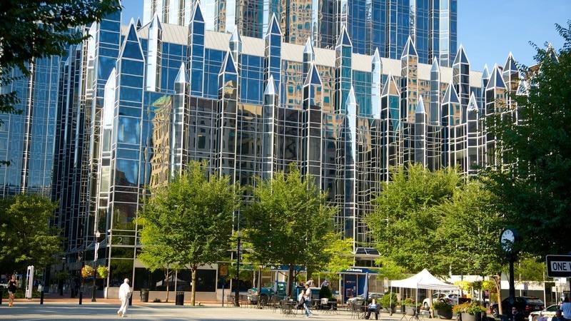 PNC Park featuring a city