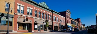 Skowhegan which includes cbd and a city