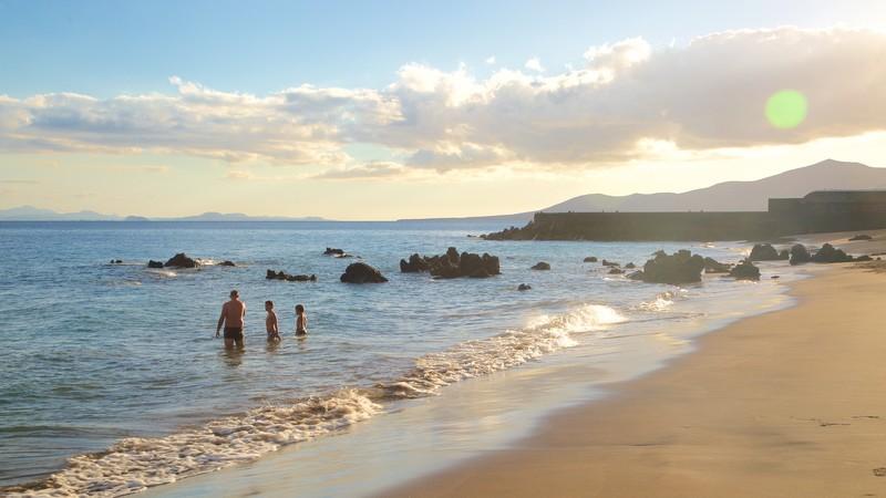 푸에르토 델 카르멘 해변