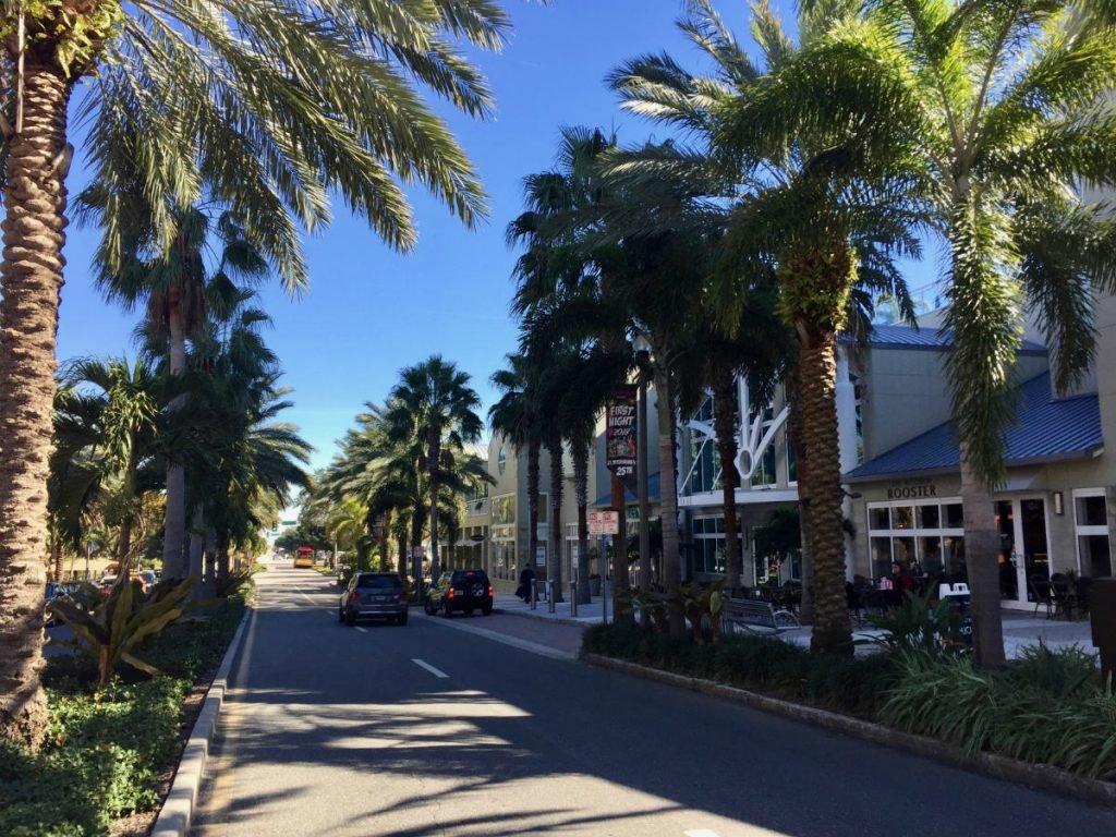 Saint Petersburg in Florida