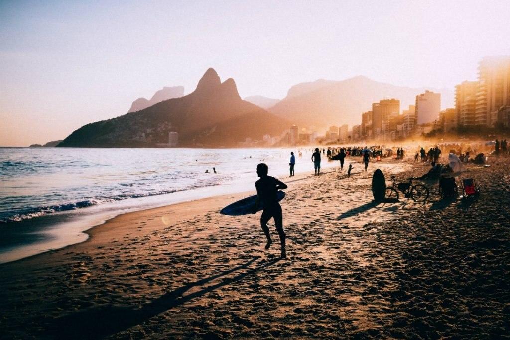 Ipanema in Brasilien