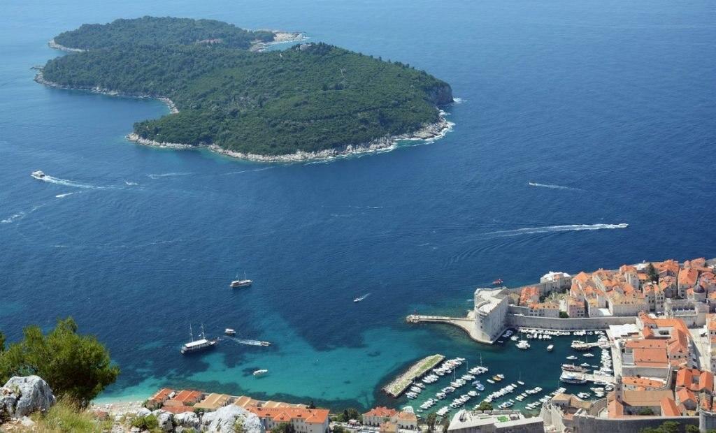 Insel Lokrum in Kroatien