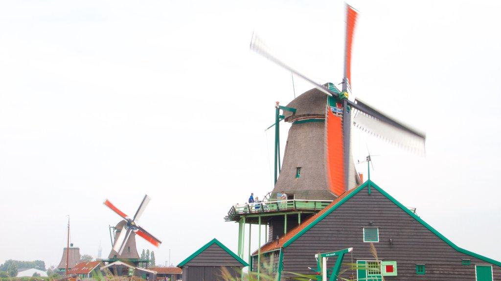Zaanse Schans which includes a windmill