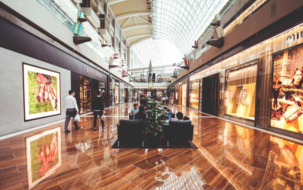 Singapur Shopping Mall