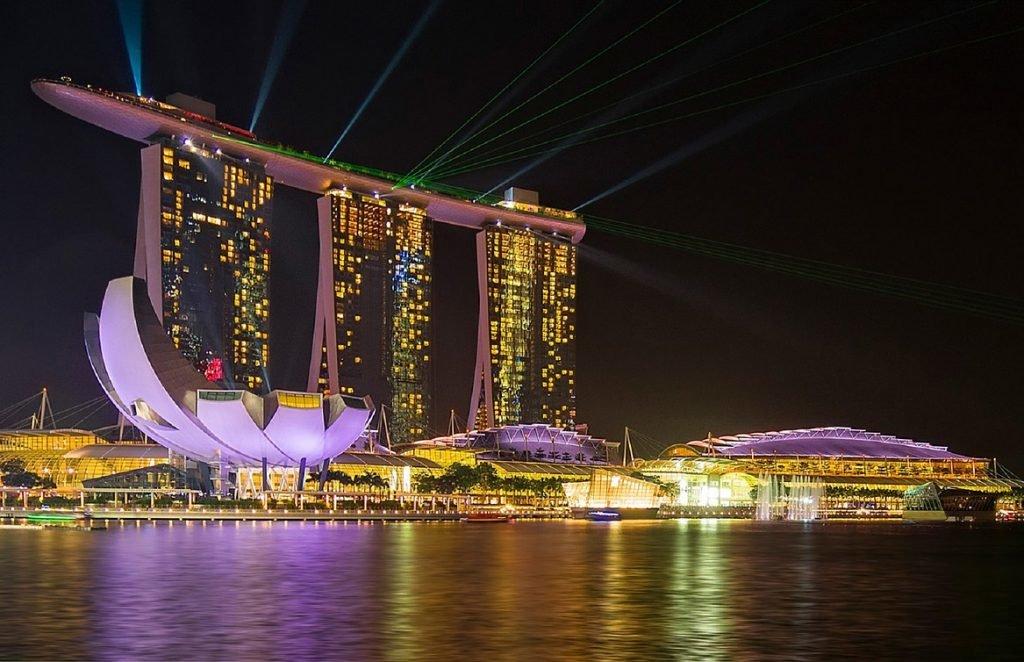 Marina Bay in Singapur