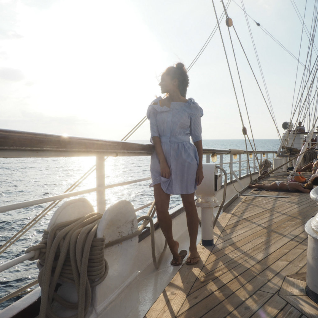 Segelkreuzfahrt Amandine