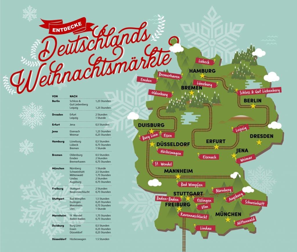 Deutschlands Weihnachtsmärkte