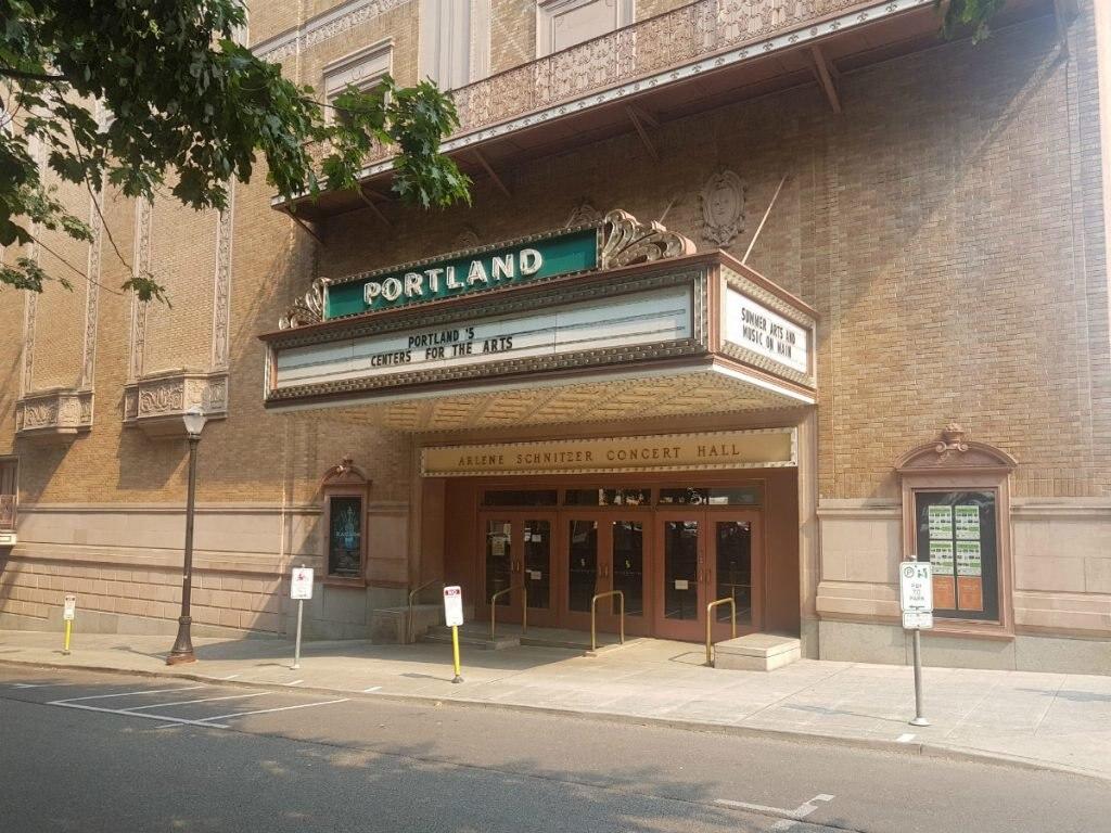 The Schnitz Portland