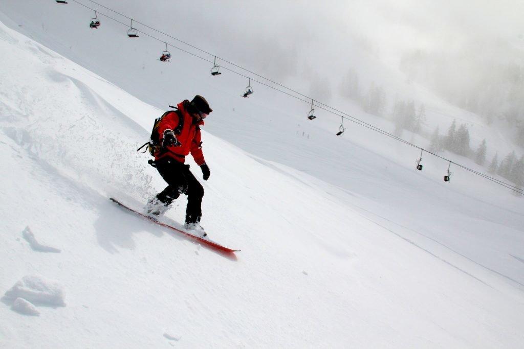 Wilder Kaiser Snowboarding
