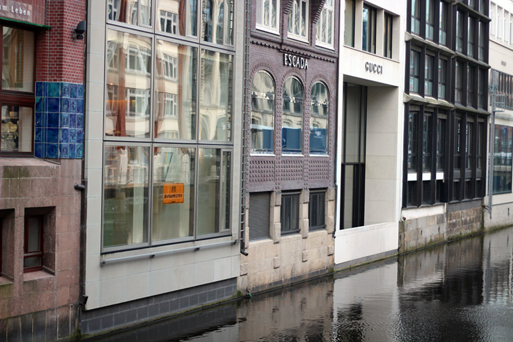 Kanal in Hamburg