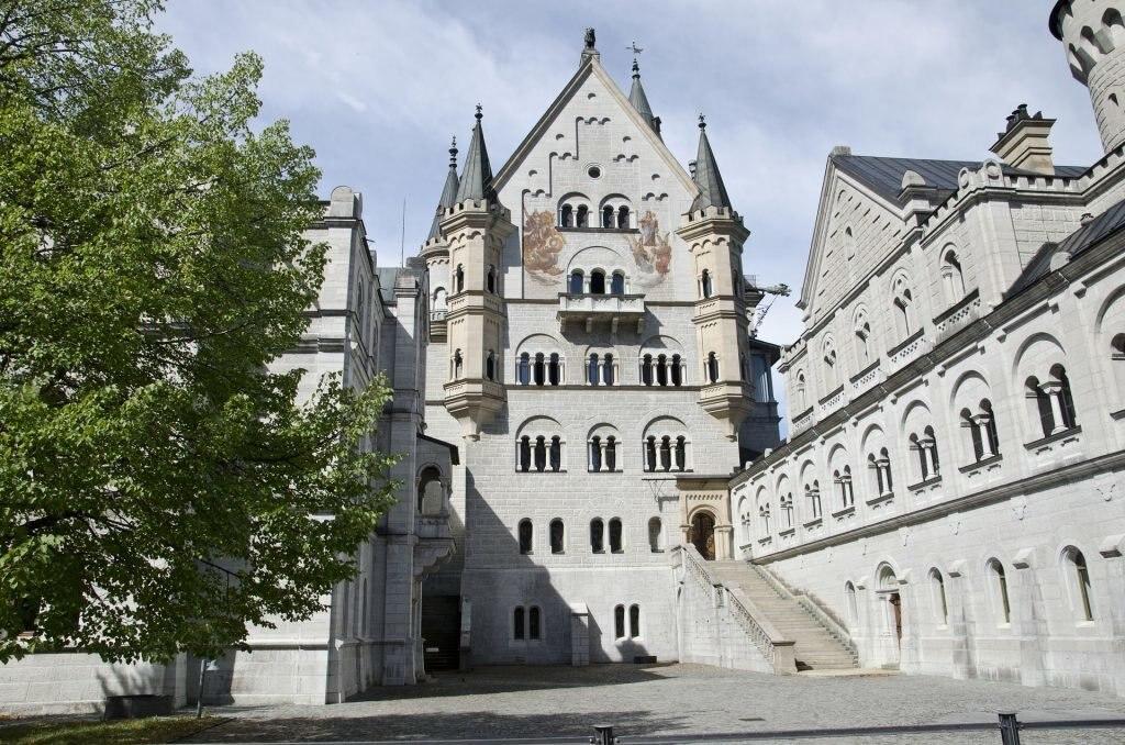 Neuschwanstein Innenhof
