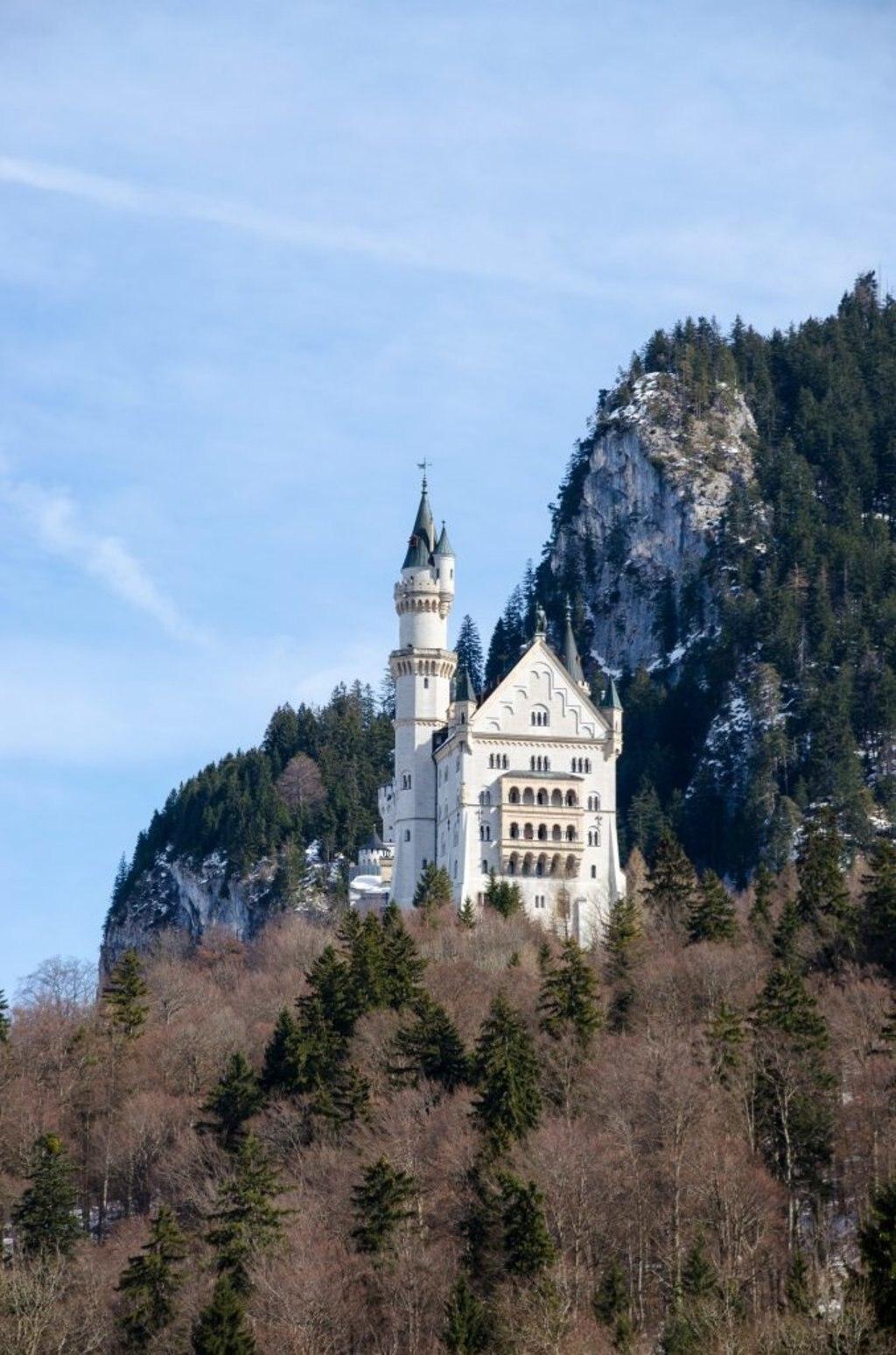 Schloß Neuschwanstein Als Tagesausflug Ab München