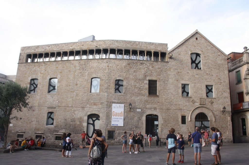 Gaudi Exhibition Center in Barcelona