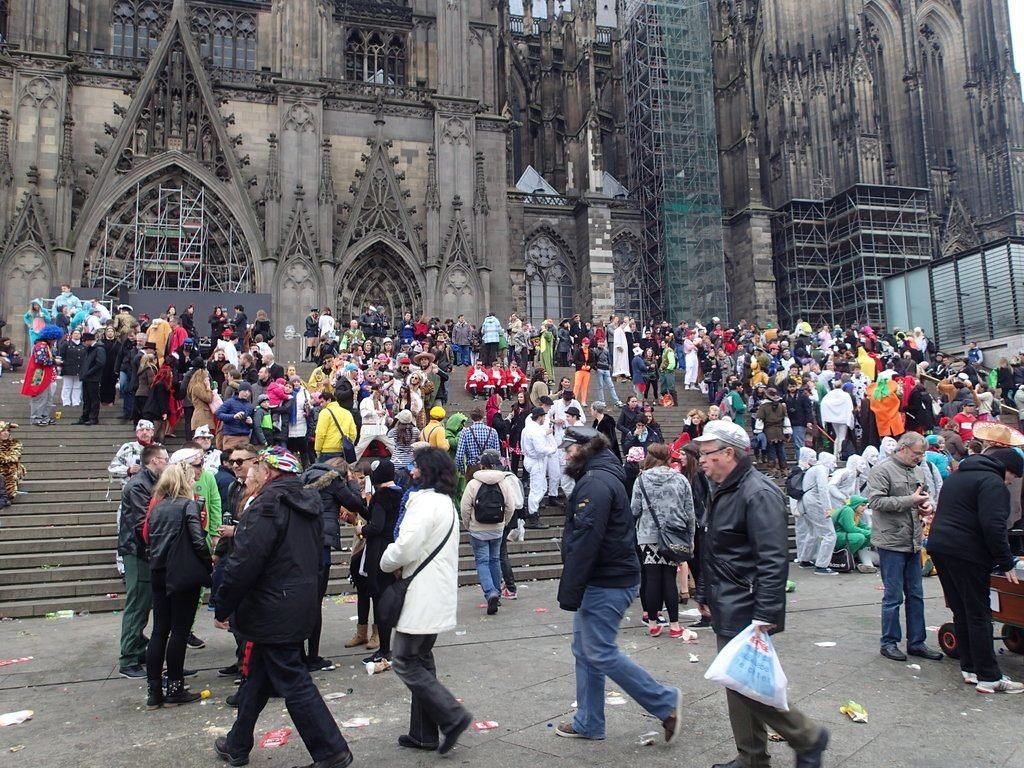 Karneval am Kölner Dom