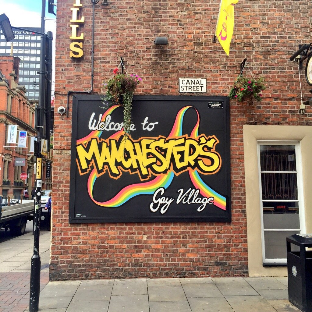 Gay Village in Manchester